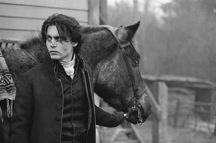 جانی دپ و اسب تک چشم