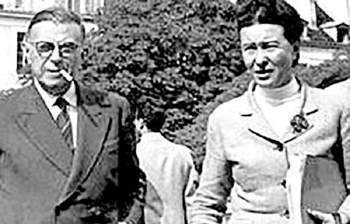 ژان پل سارتر و سیمون دوبووار 2