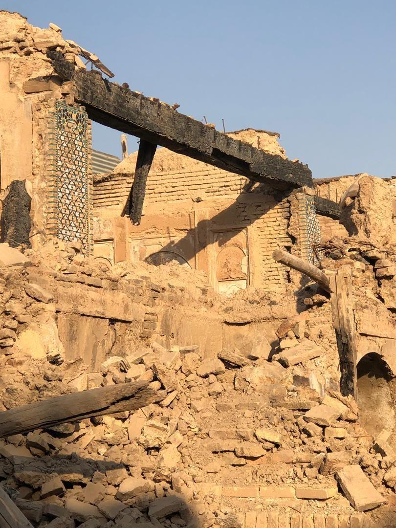 تخریب آثار باستانی شیراز