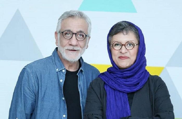 رویا تیموریان و همسرش مسعود رایگان
