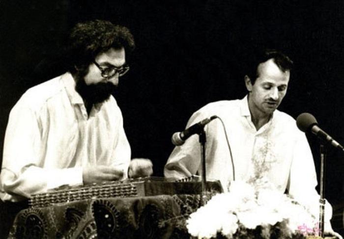 پرویز مشکاتیان و ایرج بسطامی