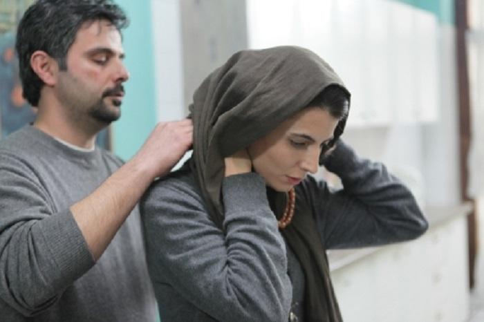 علی مصفا و لیلا حاتمی در فیلم پله آخر