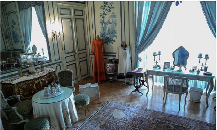اتاق آرایش فرح پهلوی در کاخ نیاوران