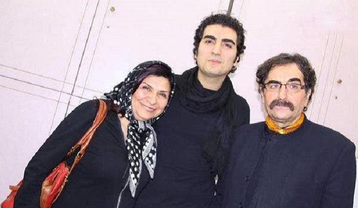 شهرام ناظری همسرش و پسرش حافظ ناظری