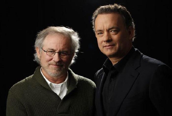 تام هنکس و استیون اسپیلبرگ