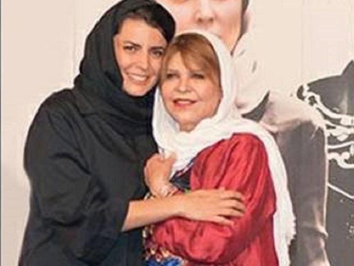 لیلا حاتمی و مادرش زری خوشکام