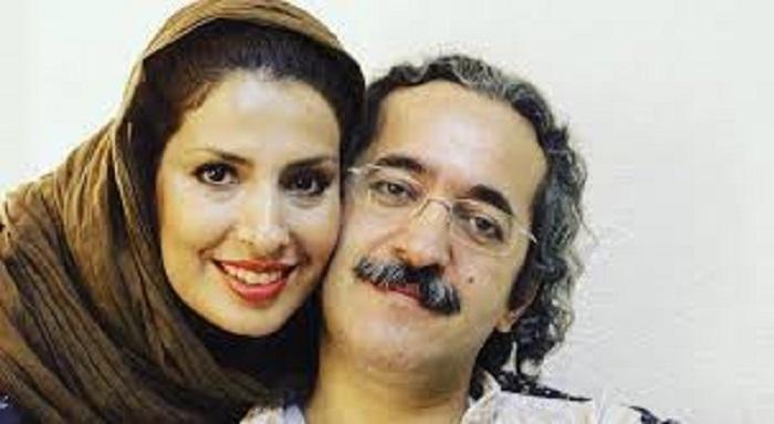 محمد یعقوبی و همسرش آیدا کیخایی