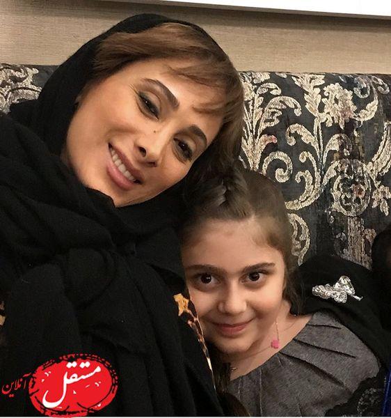 سحر زکریا و خواهرزادش + عکس