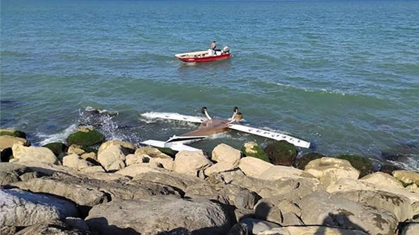 خلبان گمشده هواپیمای سقوط کرده در نوشهر کجا بود ؟ + عکس