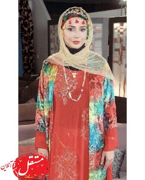 لباس محلی شبنم قلی خانی + عکس