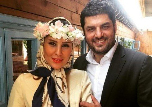 سام درخشانی|عکس های لو رفته از مراسم ازدواج  و همسرش +تصاویر