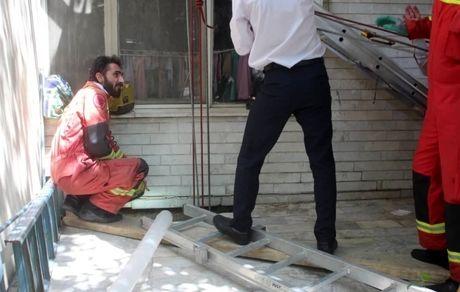 زن تهرانی بلعیده شد + تصاویر