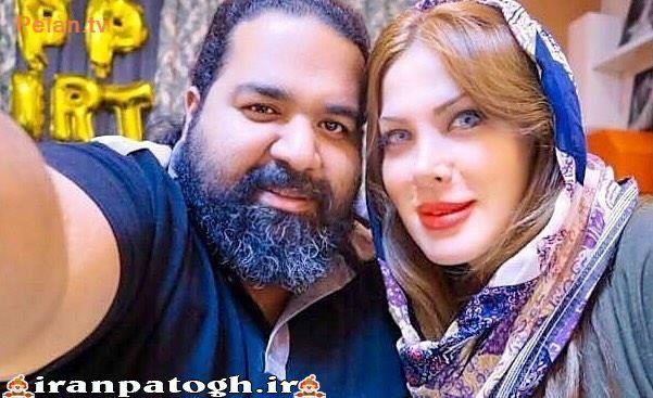 عکس رضا صادقی معلول موفق در کنار همسر و دختر زیبایش