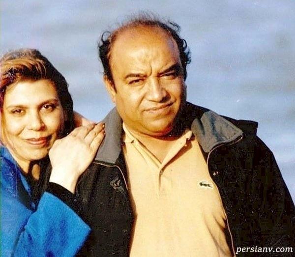 گوهر خیراندیش و همسرش جمشید اسماعیل خانی