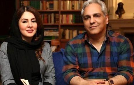 مهران مدیری|عکس لورفته و جنجالی در اغوش دختر جوان + تصاویر