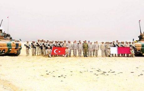 افزایش نیروهای نظامی ترکیه در خلیج فارس