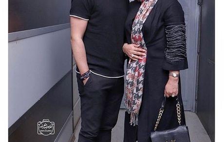 کوروش تهامی و همسر زیباشون + عکس