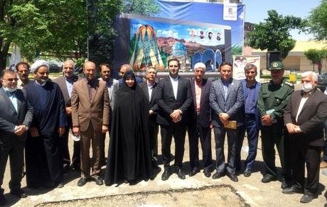 پروژه آماده سازی نصب بزرگترین تلویزیون شهری یکپارچه استان