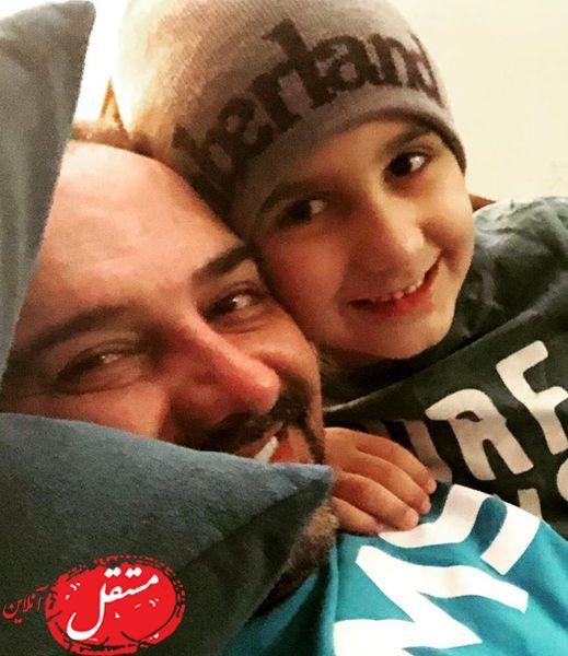 عاشقانه های پدر پسری برزو ارجمند + عکس