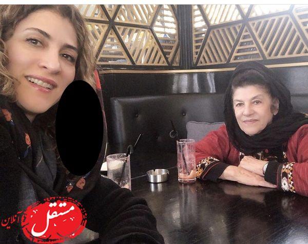 ویشکا آسایش و مادرش + عکس