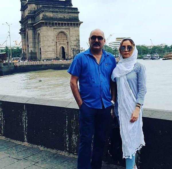 زوج بازیگر دوستداشتنی در هند + عکس