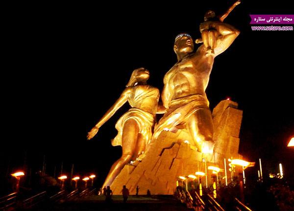 رنسانس، یادبود رنسانس آفریقا، سنگال، عبدالله واد