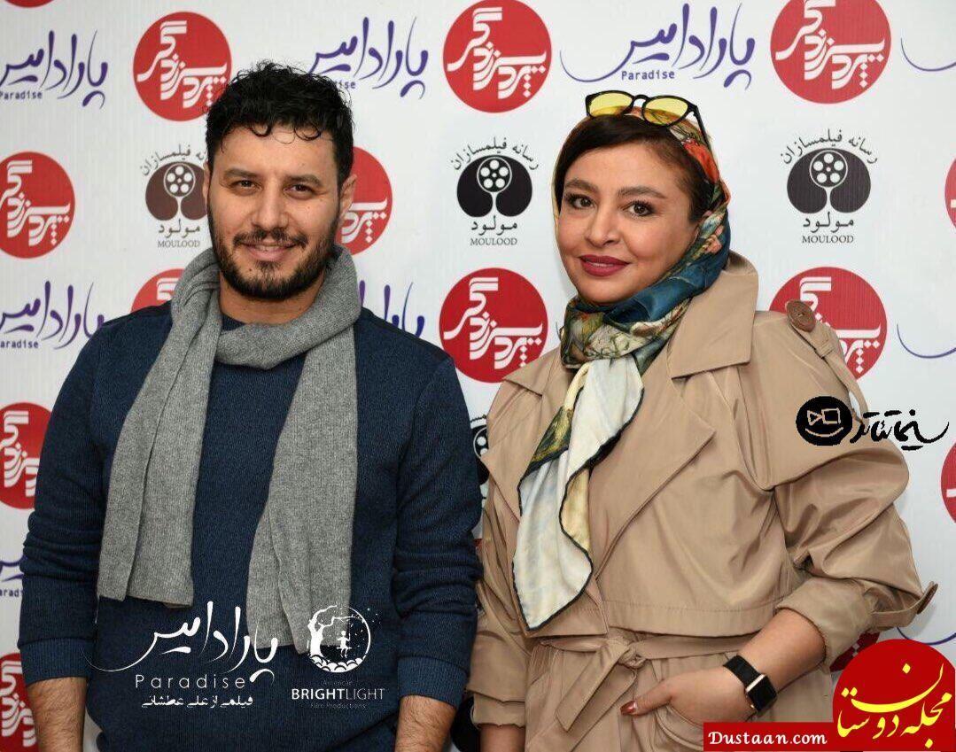 جواد عزتی و همسرش مه لقا باقری در اکران مردمی «پارادایس» +عکس - مجله اینترنتی دوستان