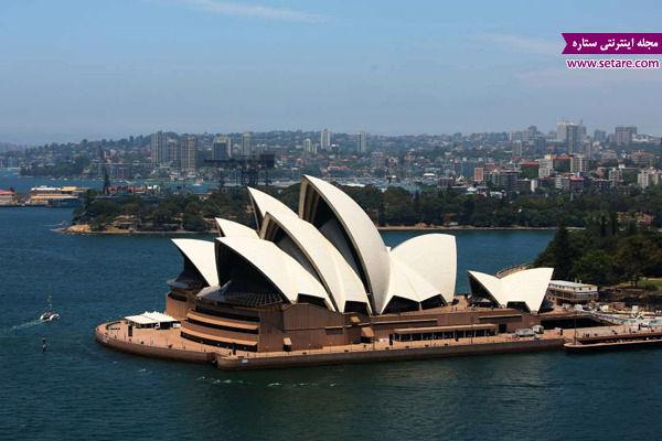 خانه اپرا، سیدنی، استرالیا، یونسکو، میراث جهانی، ثبت آثار ملی