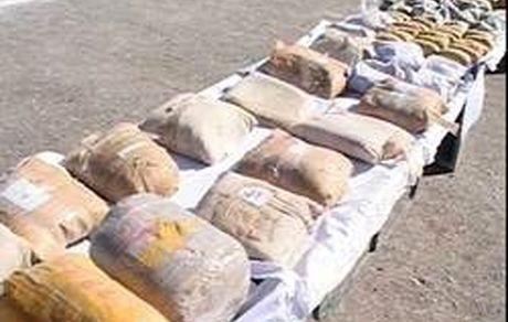 مواد مخدر کشف شده در لرستان با وزنی برابر 2هزار 674 کیلوگرم
