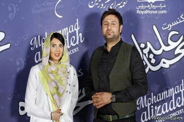 لیلا بلوکات در کنسرت محمد علیزاده
