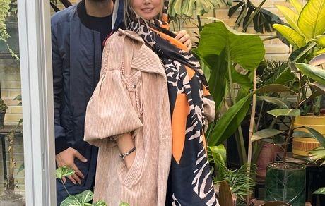 عاشقانه های شاهرخ استخری و همسرش در بلژیک + تصاویر دو نفره