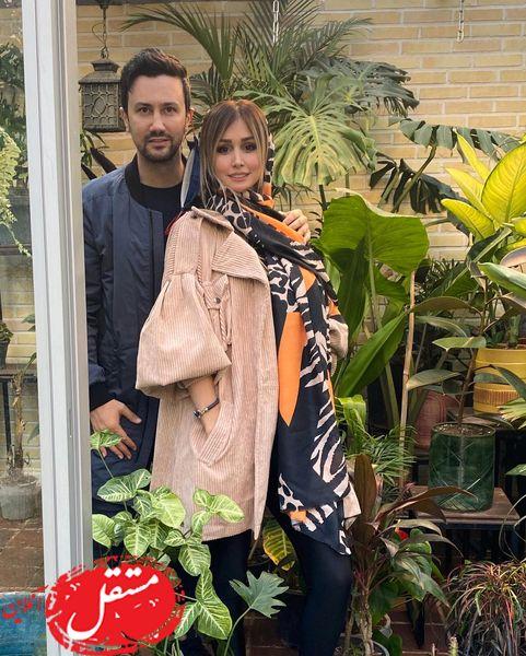 تبریک تولد عاشقانه و رمانتیک شاهرخ استخری به همسرش + عکس