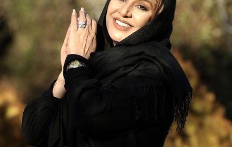 مادرشوهر خندان ساره بیات + عکس