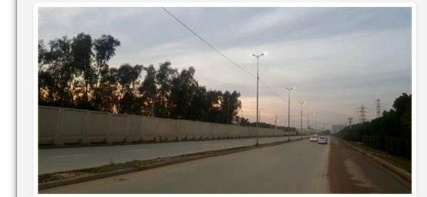 تامین روشنایی جاده های دسترسی به شرکت فولاد خوزستان