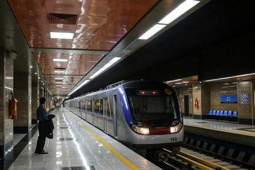 کاهش فاصله حرکت قطارها/انقلابی در متروی تهران
