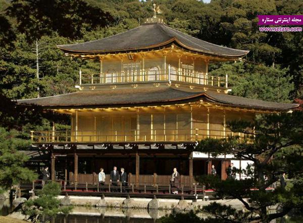 معبد طلایی، کیوتو، ژاپن، دیدنیهای قاره آسیا