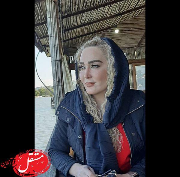 زهره فکور صبور در کافه دریایی + عکس