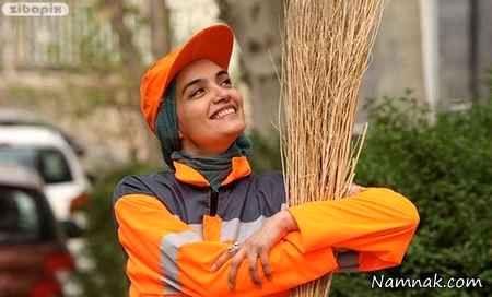 میترا حجار در فیلم نارنجی پوش