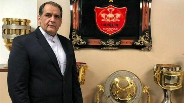 مدیر باشگاه پرسپولیس بازداشت شد