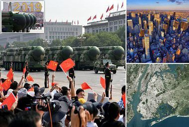 موشک هستهای جدیدی که نیویورک را با خاک یکسان میکند