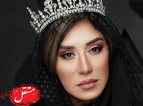 نسیم ادبی بازیگر سریال شهرزاد مدل شد + تصاویر
