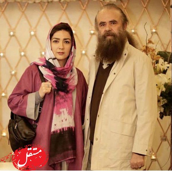 سارا صوفیانی و همسرش + عکس