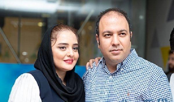 تصویری از نرگس محمدی و همسرش علی اوجی در ایتالیا