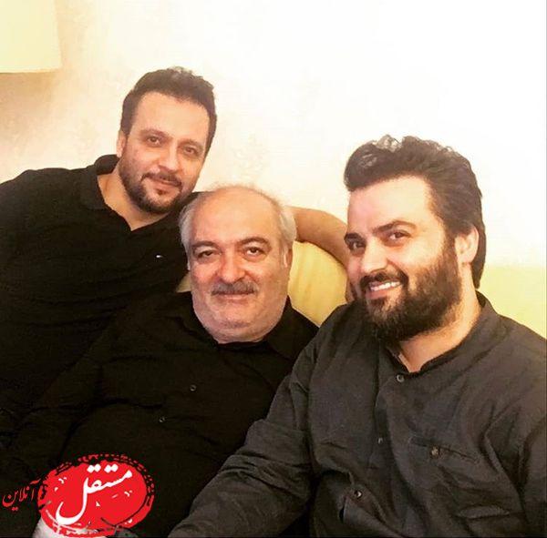 برادران سلوکی در کنار پدرشان + عکس