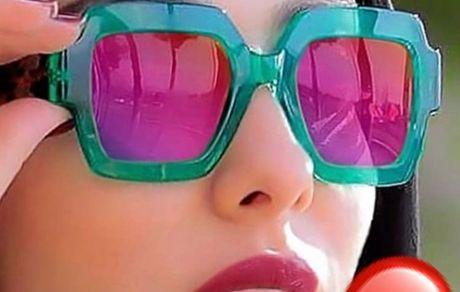 عینک خاص و فشن لیلا اوتادی + عکس