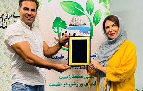 انتصاب شهره سلطانی بعنوان سفیر و رئیس کمیته هنرمندان و قهرمانان در انجمن طبیعت