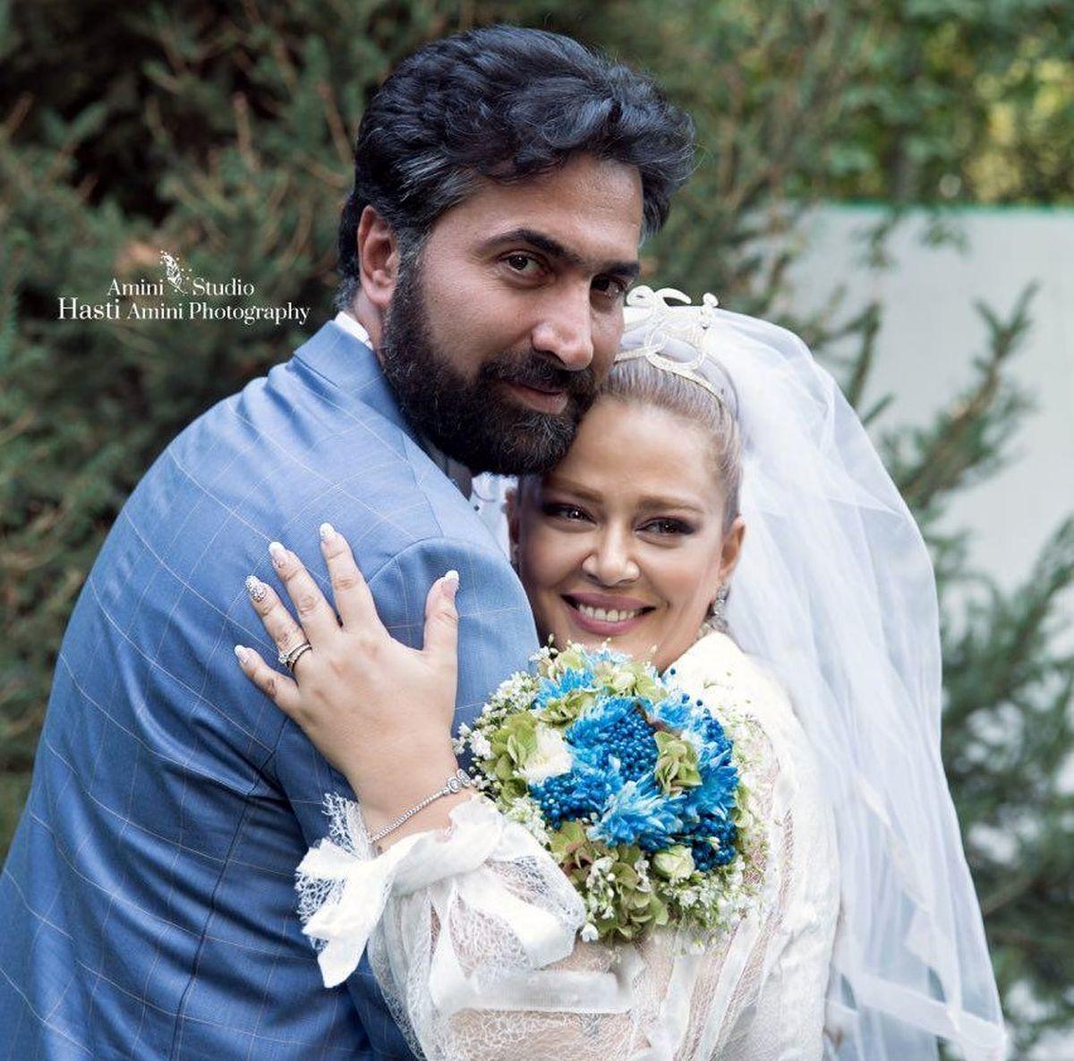 تصاویر دیده نشده از سالگرد عروسی بهاره رهنما و همسر دومش