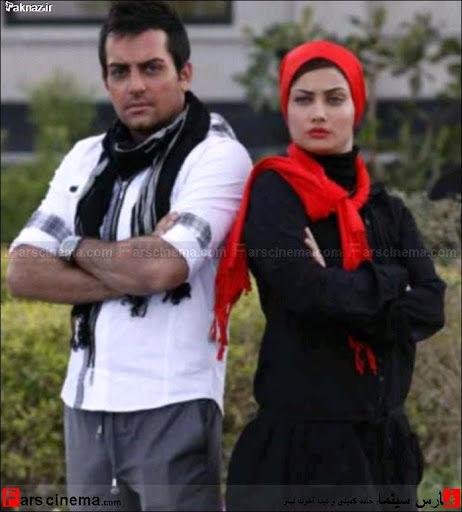 تصویر حامد کمیلی و تینا آخوند تبار زوج هنری فیلم های کمدی سینمای ...