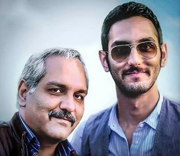 مهران مدیری و پسرش