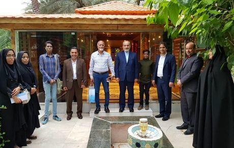 دیدار مدیرعامل سازمان منطقه آزاد قشم با اعضای انجمن تالاسمی